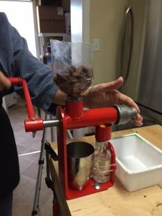 Pressing Cocoa Butter